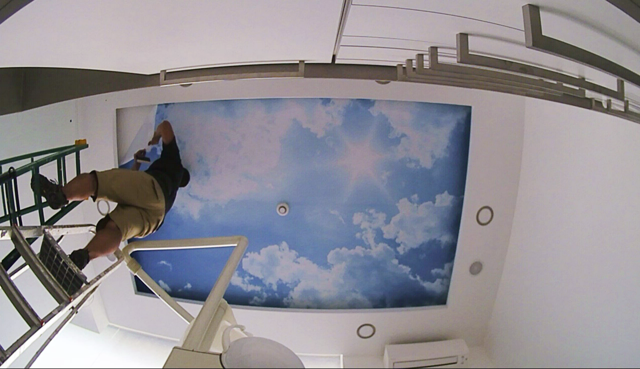 Ceiling Decoration On A Clinic